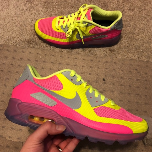 check out 5df71 75bed NEW Nike Air Max 90 Hyperfuse iD Custom Size 10.5